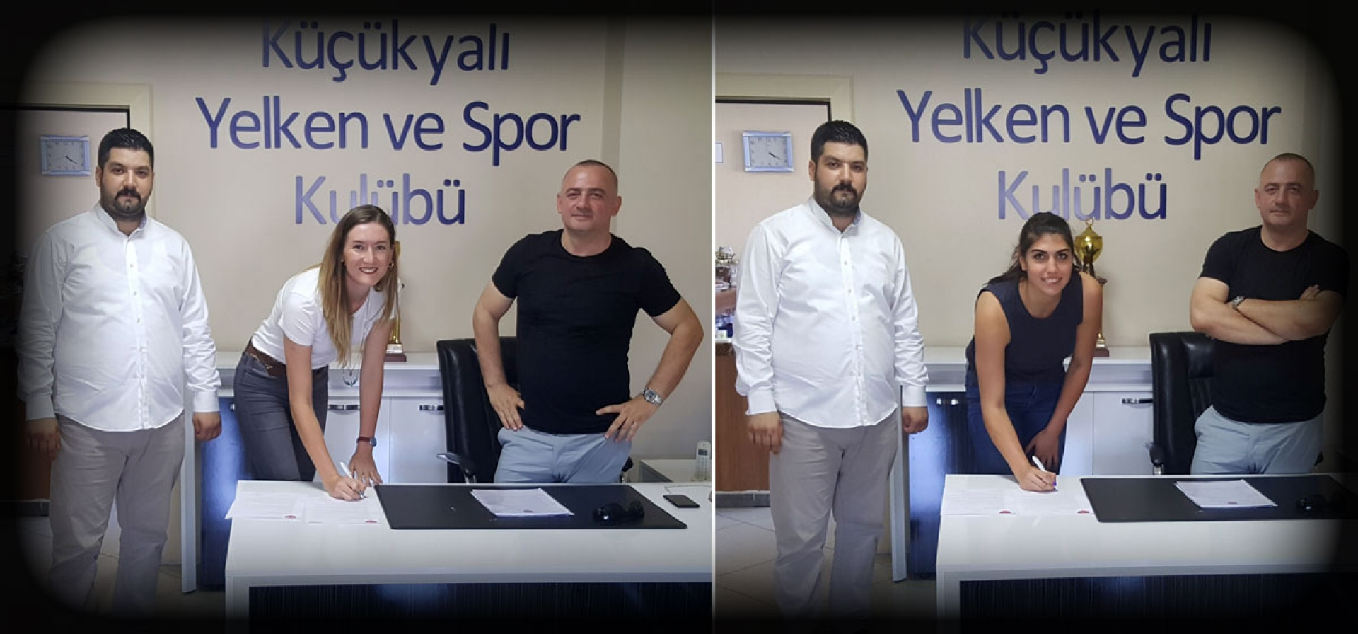 NEFIZE BAYRAMOGLU & IRMAK KESKIN SIGNED WITH AN ISTANBUL CLUB !