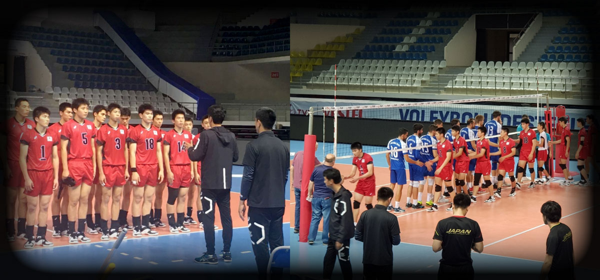 JAPANESE U-18 MEN TEAM ISTANBUL CAMP WAS SUCCESFULL !