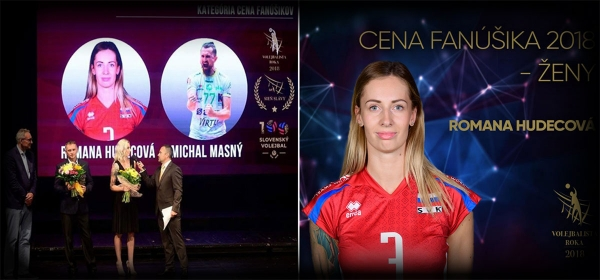 HUDECOVA AWARDED AS BEST PLAYER OF SLOVAKIA